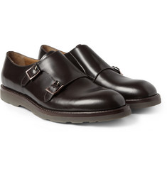 Paul Smith Shoes & Accessories Rubber-Soled Leather Monk-Strap Shoes