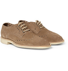 Paul Smith Shoes & Accessories Lymon Perforated Suede Brogues