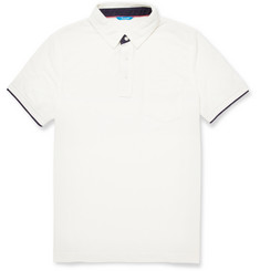 Faconnable Cotton-Blend Piqué Polo Shirt