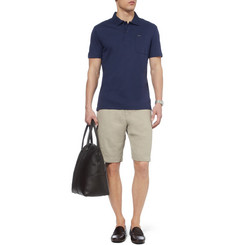 Faconnable Club Cotton-Jersey Polo Shirt