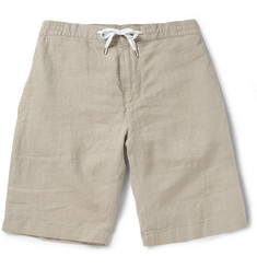 Faconnable Regular-Fit Linen Shorts