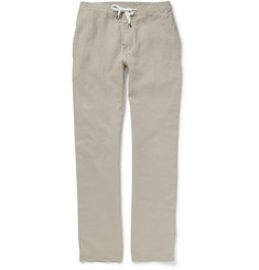 Faconnable Regular-Fit Linen Trousers