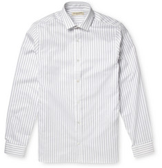 Burberry London Pinstripe Herringbone Cotton Shirt