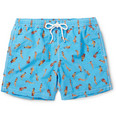 Hartford - Mid-Length Printed Swim Shorts