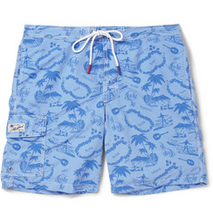 Hartford Mid-Length Printed Swim Shorts