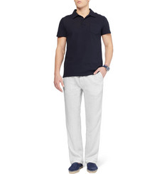Hartford Regular-Fit Linen Trousers