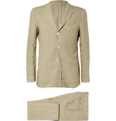 Boglioli Brown K Linen Suit
