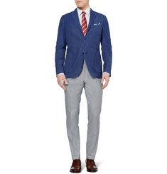 Boglioli K Slim-Fit Unstructured Wool-Twill Blazer