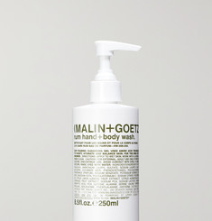 Malin + Goetz Rum Hand + Body Wash, 250ml