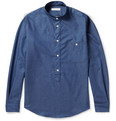 Richard James Slim-Fit Cotton-Chambray Shirt