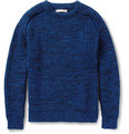 Richard James Wool and Cotton-Blend Sweater