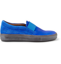 Acne Studios Hans Vintage Suede Slip-On Sneakers