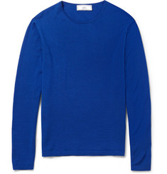 AMI Fine-Knit Wool Sweater
