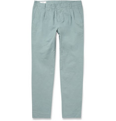 AMI Slim-Fit Cotton Trousers