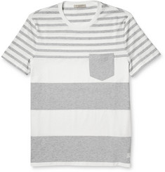 Burberry Brit Tolsford Striped Cotton-Jersey T-Shirt