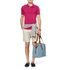 Burberry Brit Slim-Fit Cotton-Jersey Polo Shirt