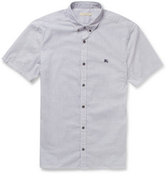 Burberry Brit Striped Cotton Short-Sleeved Shirt