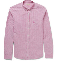 Burberry Brit Cotton and Linen-Blend Shirt