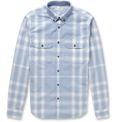Burberry Brit Check Woven-Cotton Shirt
