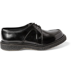 Adieu Type 4 Crepe-Sole Panelled Leather Derby Shoes