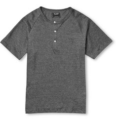Todd Snyder Cotton-Piqué Short-Sleeved Henley T-Shirt