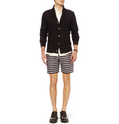 Todd Snyder Striped Lightweight Cotton Shorts
