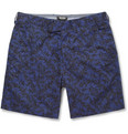 Todd Snyder Slim-Fit Printed Cotton Shorts