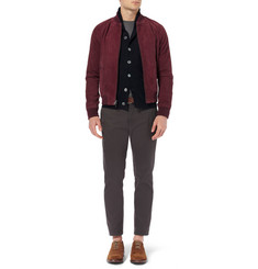 Todd Snyder Shawl Collar Linen, Cotton and Wool-Blend Cardigan