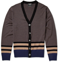 Todd Snyder Striped Wool Cardigan
