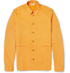 Folk Lightweight Cotton-Blend Shirt Jacket