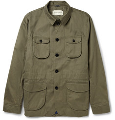 Oliver Spencer Cotton-Twill Jacket