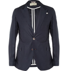 Oliver Spencer Portland Slim-Fit Unstructured Cotton Blazer