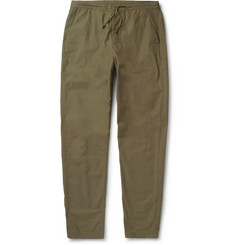 Oliver Spencer Regular Fit Cotton Trousers