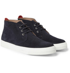 Oliver Spencer Beat Suede Rubber-Soled Chukka Boots