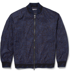Marc by Marc Jacobs Printed Lightweight Bomber Jacket
