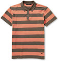 Marc by Marc Jacobs Striped Cotton-Pique Polo Shirt
