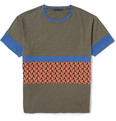 Marc by Marc Jacobs - Panelled Cotton-Jersey T-Shirt