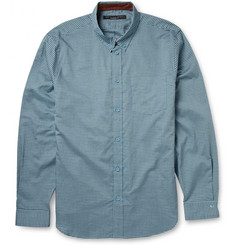 Marc by Marc Jacobs Button-Down Collar Checked Cotton Shirt