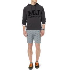 Marc by Marc Jacobs Printed Cotton-Jersey Hoodie