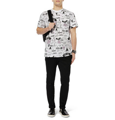 Sibling Printed Cotton-Jersey T-Shirt
