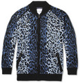 Sibling - Leopard-Patterned Knitted Cardigan