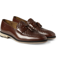 AMI Leather Tassel Loafers
