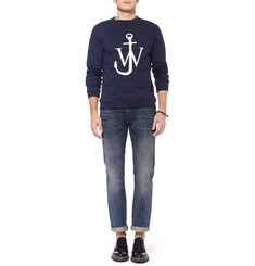 J.W.Anderson Printed Fleece-Backed Cotton-Jersey Sweatshirt