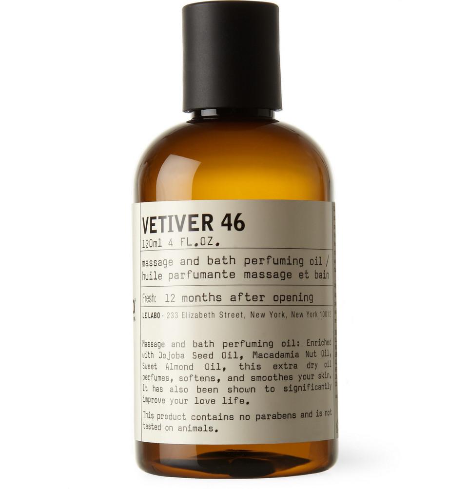 Vetiver 46 Body Oil, 120ml - White