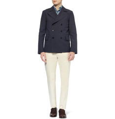 MP di Massimo Piombo Slim-Fit Unstructured Wool-Blend Blazer
