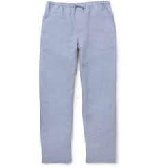 Zimmerli Linen, Bamboo and Cotton-Blend Pyjama Trousers