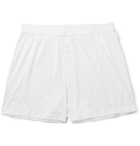 Sunspel Sea Island Cotton Boxer Shorts