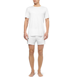 Sunspel Sea Island Cotton Crew Neck T-Shirt