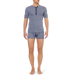 Schiesser Cotton-Jersey Boxer Briefs