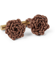 Alice Made This Nelson Knotted Cord Cufflinks